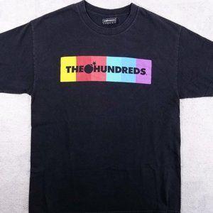 The Hundreds Multi-Colored Box Logo + Bomb T-shirt